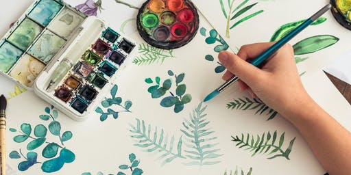 Watercolour for Beginners: Free Flowing Botanicals