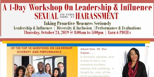 A 1-Day Workshop On Sexual & Other Forms of Harassment For Leadership