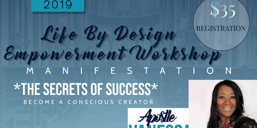 Dream Life By Design Empowerment Work Shop