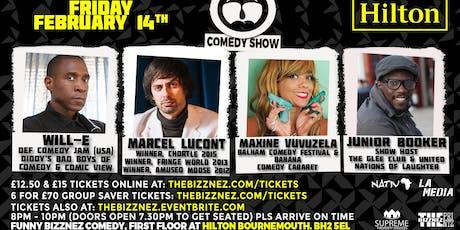 Funny Bizznez Valentine's Day Comedy, Bournemouth tickets