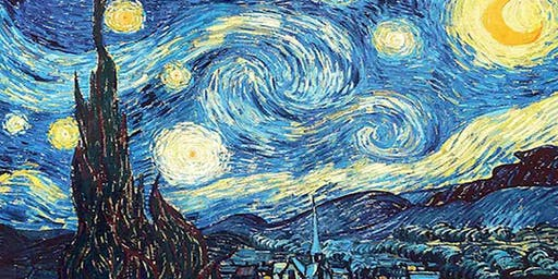 Van Gogh Starry Night - Stacks Bar Restaurant