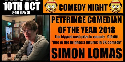 STAND-UP COMEDY with Simon Lomas & Guests