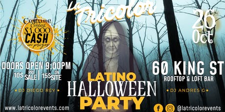 LATINO HALLOWEEN PARTY tickets