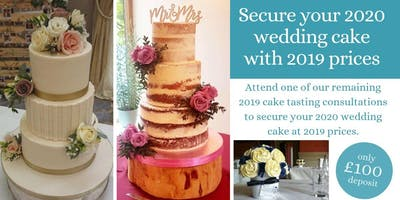 Wedding Cake Tasting & Consultation (2019)