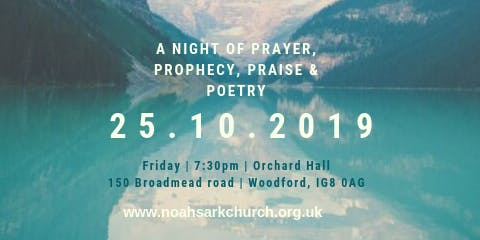 Prayer, Prophecy, Praise, Poetry & Pizza