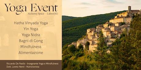 Yoga Event biglietti