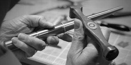 Intensive Beginners Jewellery class - make a set of silver jewellery tickets