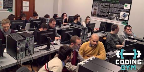 Coding Gym Torino - Ottobre 2019 biglietti