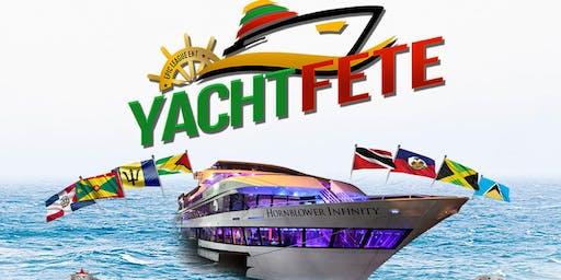 Yacht Fete Reggae Vs. Soca Palooza on The Hornblower Infinity *October 19th*