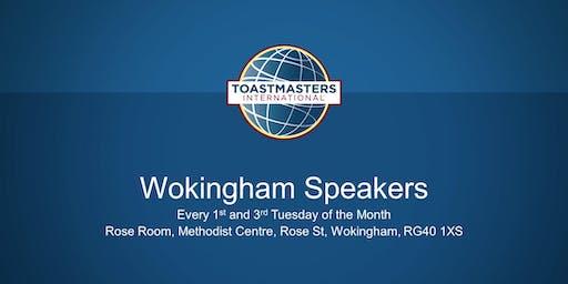 Wokingham Speakers - Club Meeting