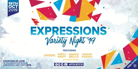 Expressions Variety Night tickets