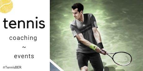 Tennis Coaching : Wednesday's @ Blau Gold, Steglitz (indoor clay) Tickets