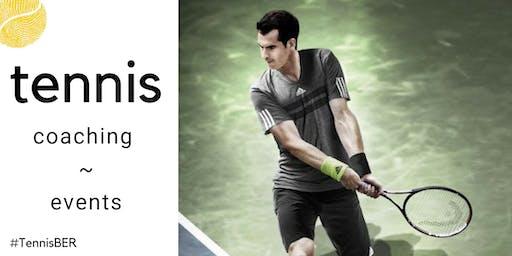 Tennis Coaching : Wednesday's @ Blau Gold, Steglitz (indoor clay)