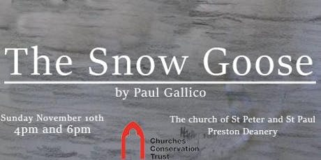 The Snow Goose by Paul Gallico  in Preston Deanery tickets