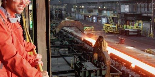 Bedrijfsbezoek: Tata steel (maandag)