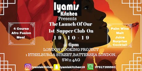 Iyamis Kitchen Supper Club tickets