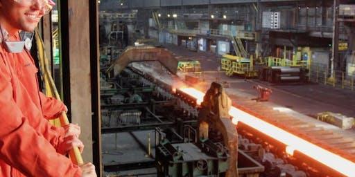 Bedrijfsbezoek: Tata steel (dinsdag)