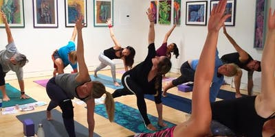 Rise & Shine Yoga with Linda at NuMovement