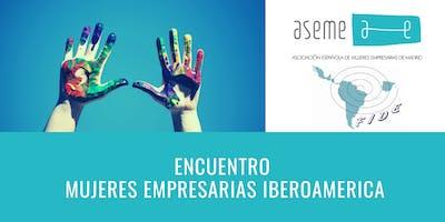 Cena de  confraternización empresarias Iberoamérica