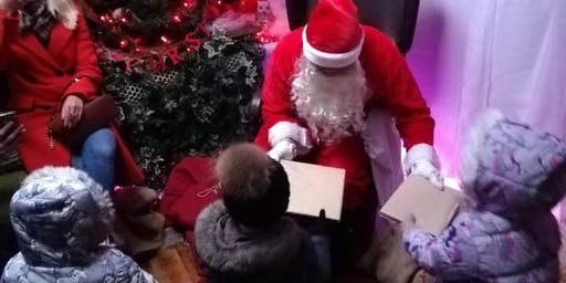 Saltburn Santa's Grotto in Woodland Centre -21st and 22nd December 2019