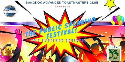 Bangkok Public Speaking Festival!