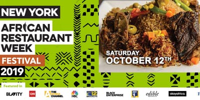 event image African Restaurant Week Festival 2019  - Come Enjoy the Best of Africa