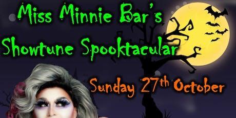 Miss Minnie Bar's Halloween Spooktacular tickets