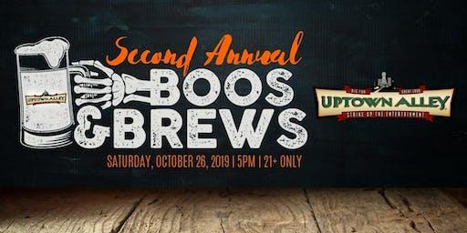 2nd Annual Boos & Brews