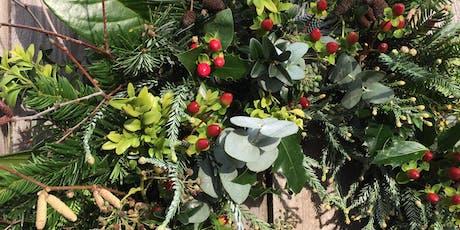 Christmas Wreath Workshop - near Bromley tickets