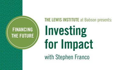 Financing the Future: Investing for Impact tickets