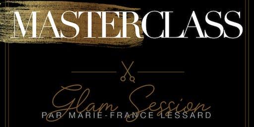 MASTERCLASS - GLAM SESSION Par Marie-France Lessard, artiste Kérastase