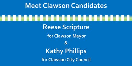 Meet Clawson candidates Reese Scripture and Kathy Phillips tickets
