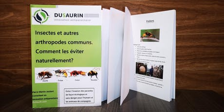 """Lancement du livre: """" Insectes et autres arthropodes communs. Comment,...!"""" billets"""