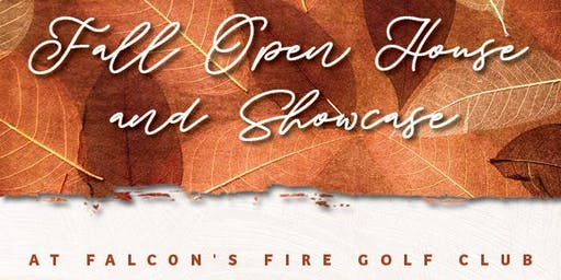 Falcon's Fire Fall Open House