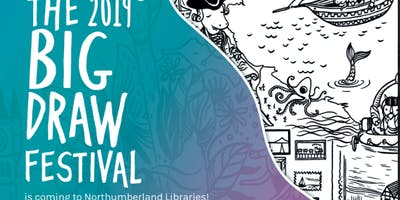 Big Draw 2019 at Hexham Library