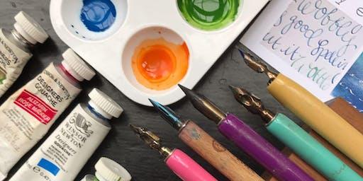 Calligraphy taster workshop