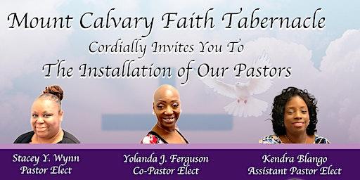 Mount Calvary Faith Tabernacle Installation