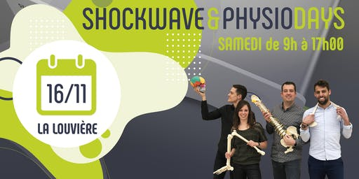 SHOCKWAVE & PHYSIO DAYS - La Louvière