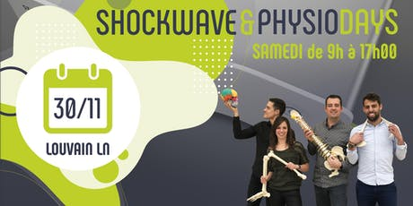SHOCKWAVE & PHYSIO DAYS -  Louvain-la-Neuve billets