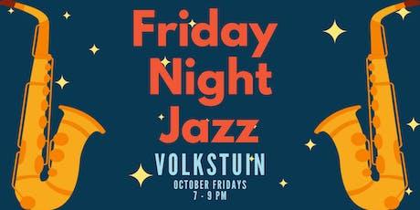 Friday Night Jazz at Volkstuin tickets
