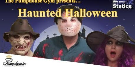 Halloween fancy dress party with live music and great food