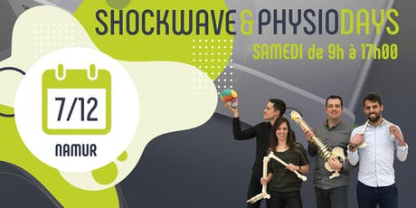 SHOCKWAVE & PHYSIO DAYS -  Namur billets