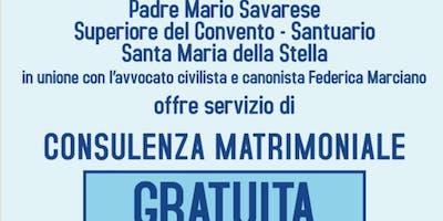 Consulenza Matrimoniale Gratuita Santuario Santa Maria della Stella
