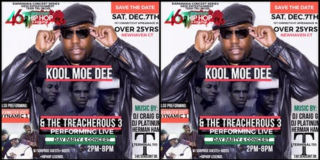 The 46th Anniversary of Hip Hop pt 3 with Kool Moe Dee andThe Treacherous 3 tickets