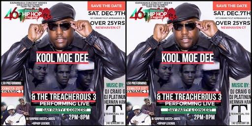 The 46th Anniversary of Hip Hop pt 3 with Kool Moe Dee andThe Treacherous 3