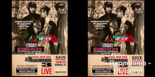 The 46th Anniversary of Hip Hop Pt 3 with KOOL MOE DEE & TREACHEROUS 3
