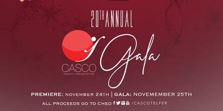 CASCO's 20th Annual Gala tickets