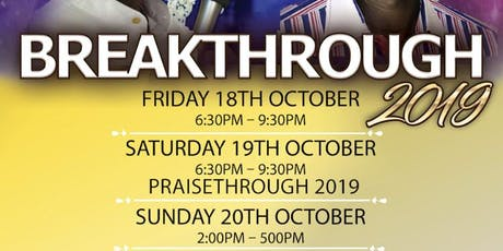BREAKTHROUGH 2019 tickets