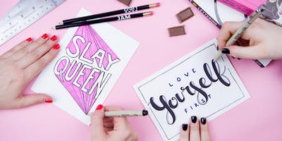 Self-Love Hand Lettering
