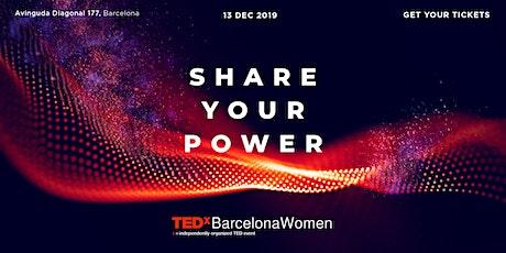 TEDxBarcelonaWomen 2019 tickets